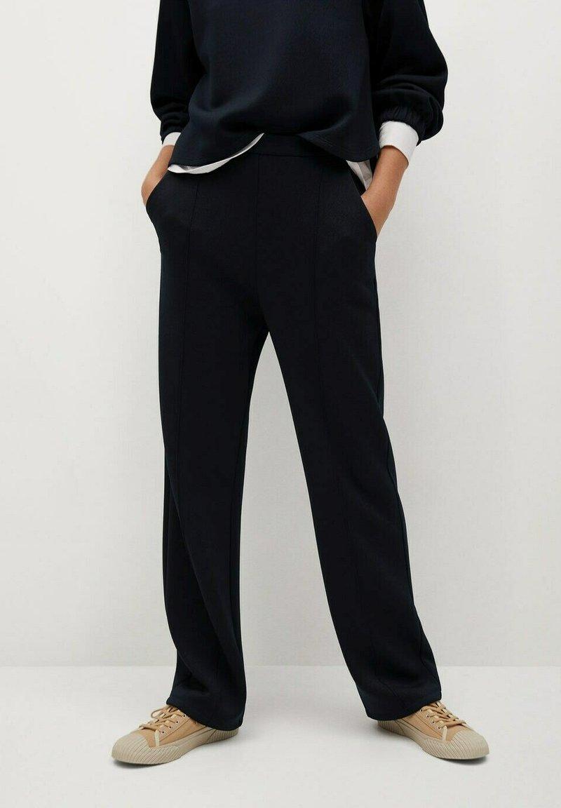 Mango - TAMMY - Trousers - námořnická modrá