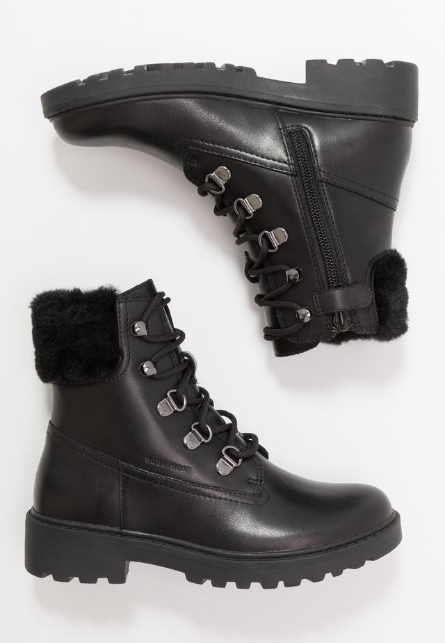 CASEY GIRL WPF - Snørestøvletter - black