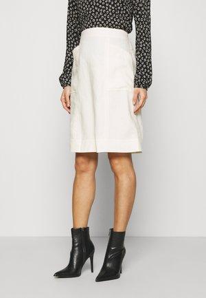 ESSENTIAL - A-line skirt - tofu