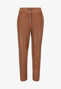 BOSS - SIWETTA - Trousers - light brown - 5