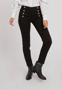 Morgan - Slim fit jeans - black - 0