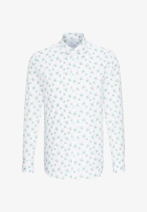 SHAPED FIT - Shirt - grün