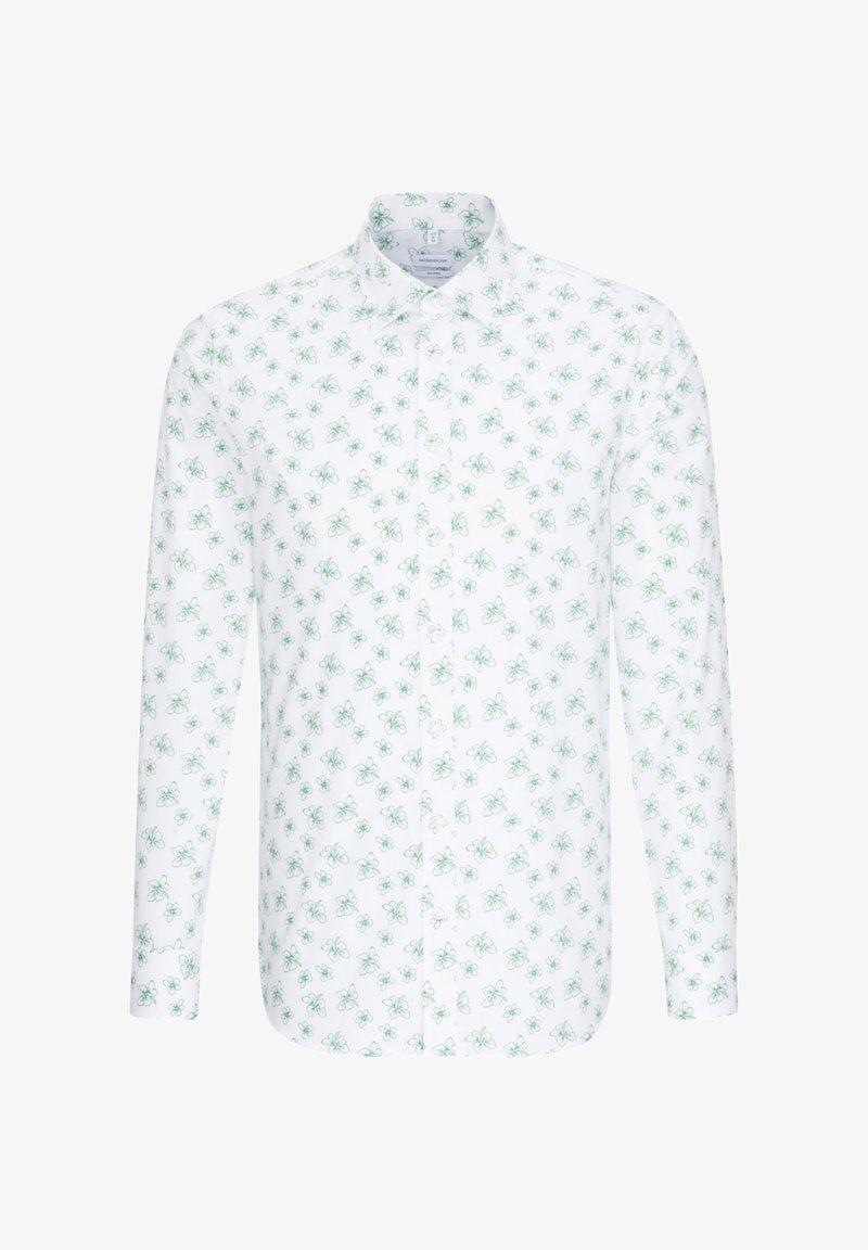 Seidensticker - SHAPED FIT - Shirt - grün