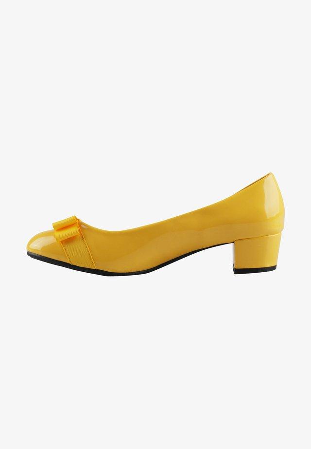 Bridal shoes - yellow