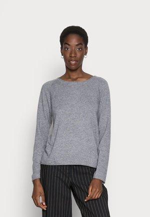 CUALAIA - Sweter - light grey melange