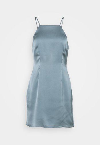 HALTER SLIP SHORT DRESS  - Cocktailkjole - champagne