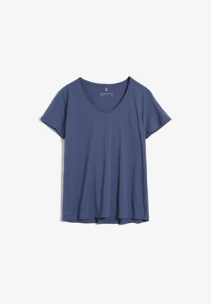 HAADIA - Basic T-shirt - foggy blue