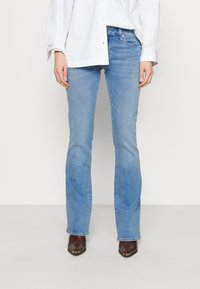 Mavi - BELLA MID RISE - Bootcut jeans - light sky glam - 0