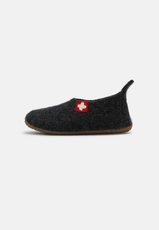 SCHWEIZER KREUZ UNISEX - Pantoffels - anthrazit
