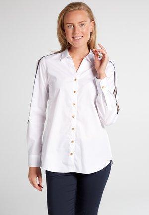 MODERN CLASSIC - Button-down blouse - weiß