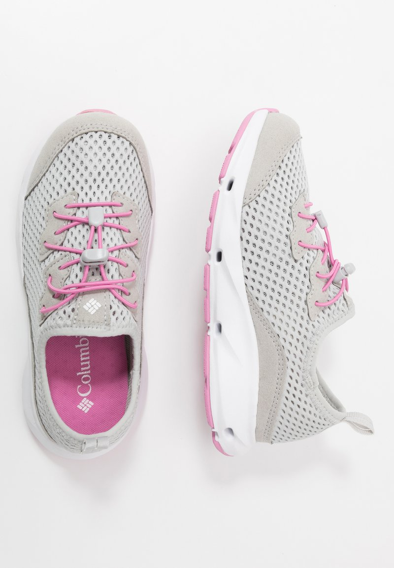 Columbia - YOUTH COLUMBIA VENT - Neutral running shoes - grey ice/orchid