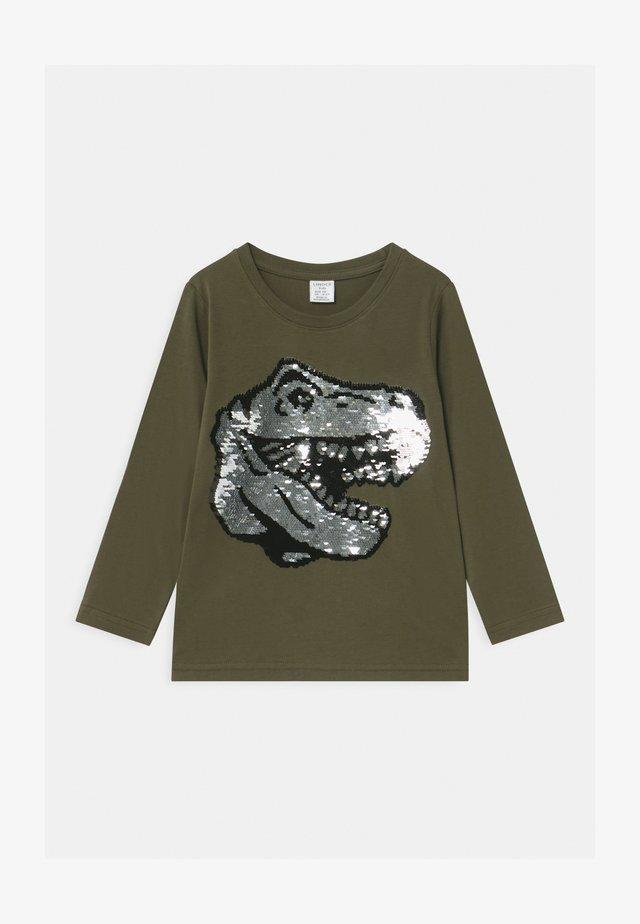 MINI  - Langærmede T-shirts - dark khaki green