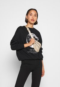 Even&Odd - Printed Oversized Sweatshirt - Sweatshirt - black - 3
