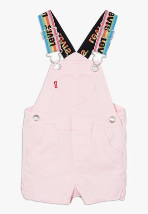 DENIM SHORTALL - Dungarees - rose shadow