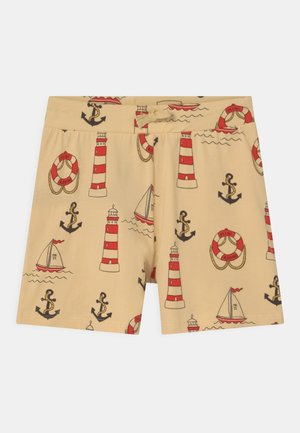 LIGHTHOUSE UNISEX - Shortsit - yellow