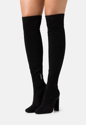 RESILIENT - Over-the-knee boots - black