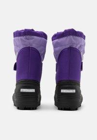 Columbia - CHILDRENS POWDERBUGPLUS II UNISEX - Winter boots - emperor/paisley purple - 2