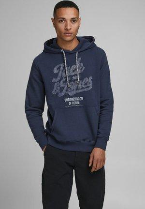 PRINT  - Hoodie - navy blazer
