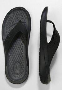 Crocs - CROCS LITERIDE - Sandály do bazénu - black/slate grey - 1