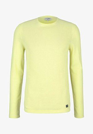 Strickpullover - cream yellow