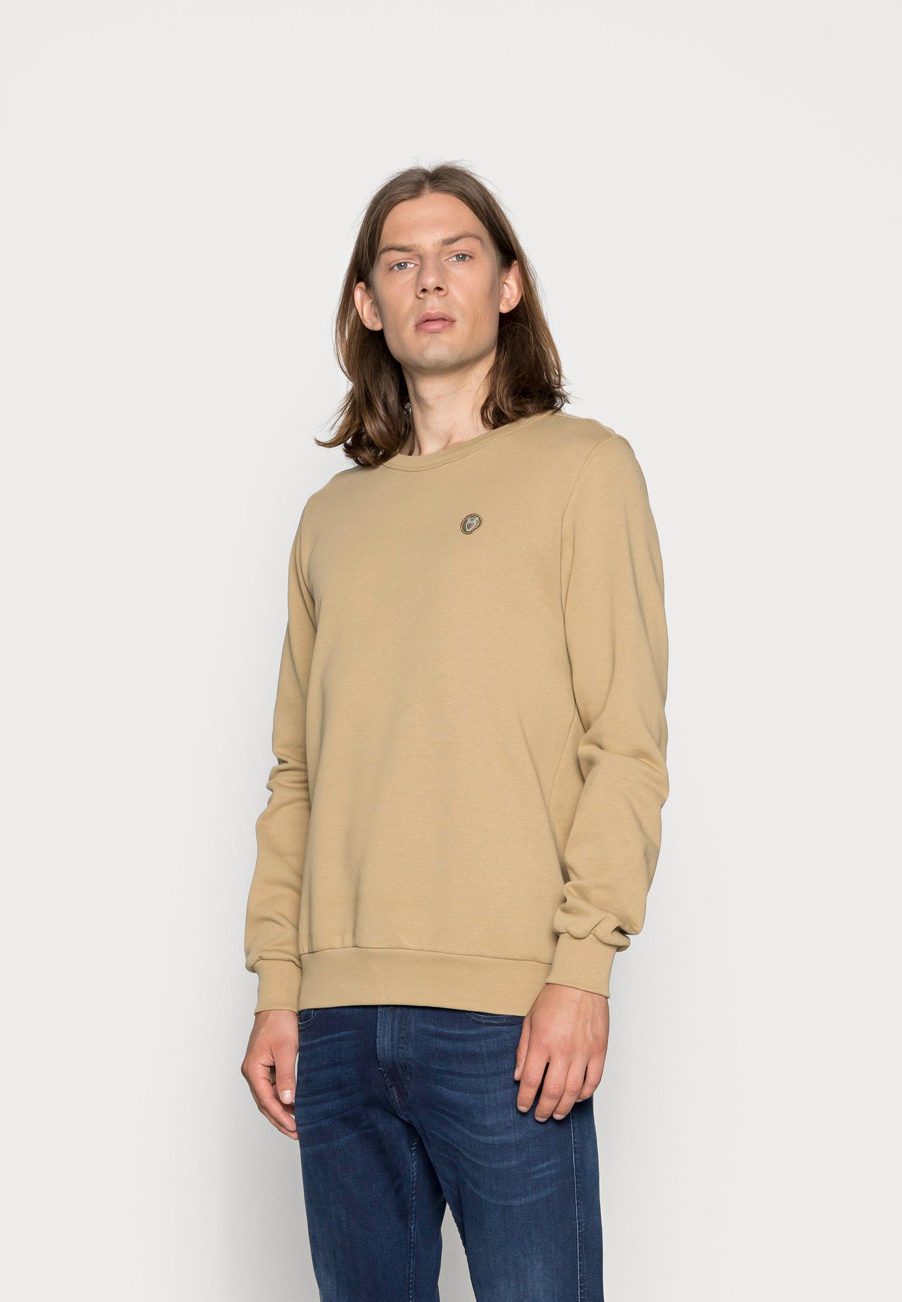 Men BASIC BADGE GOTS VEGAN - Sweatshirt