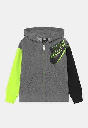 HOODIE - veste en sweat zippée - grey
