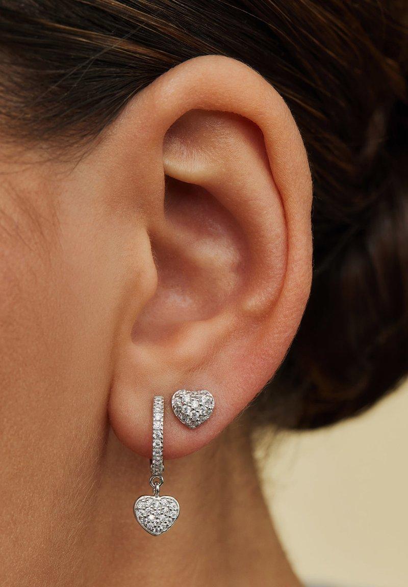 Parte di Me - Boucles d'oreilles - silver-coloured