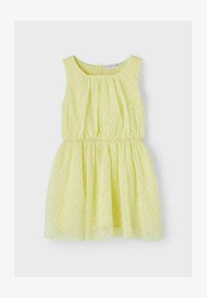 NMFVABOSS SPENCER - Day dress - yellow pear