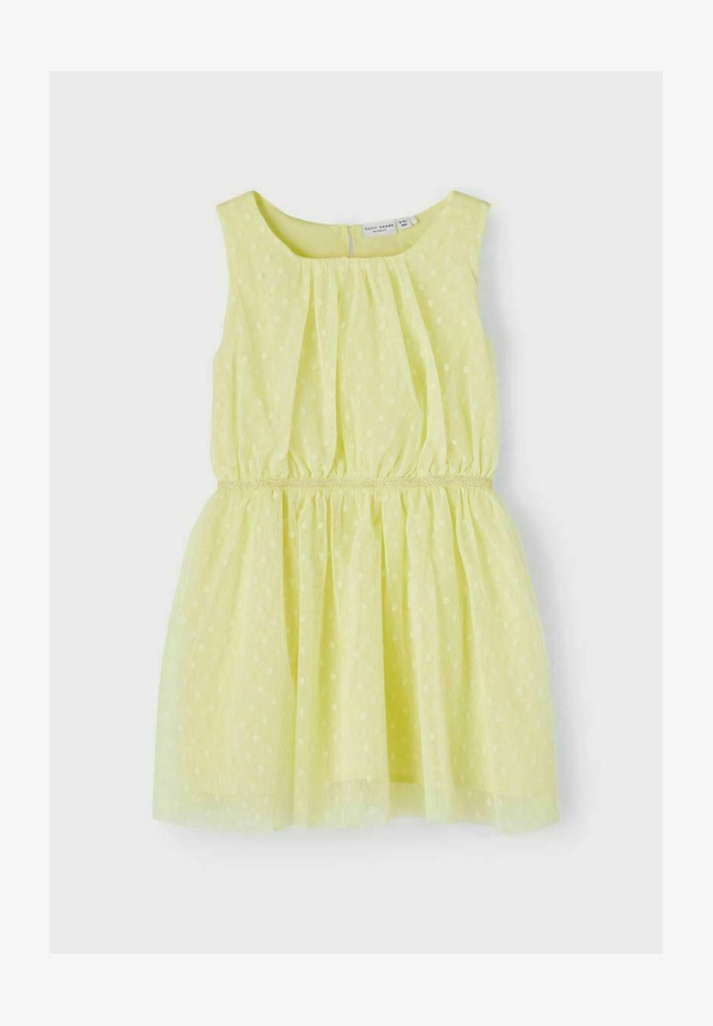 Name it - NMFVABOSS SPENCER - Day dress - yellow pear
