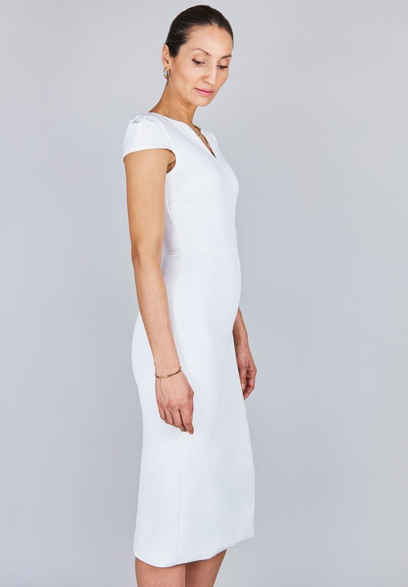 True Violet - Korte jurk - white