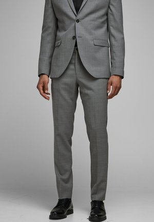 JPRSOLARIS  - Suit trousers - light grey melange