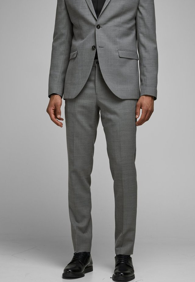 Spodnie garniturowe - light grey melange