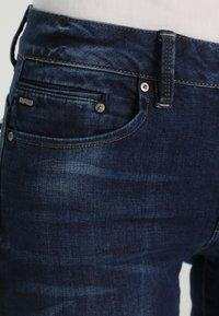 G-Star - MIDGE ZIP MID SKINNY  - Jeans Skinny Fit - neutro stretch denim - 3