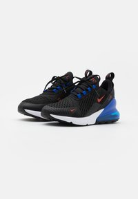 Nike Sportswear - AIR MAX 270 UNISEX - Trainers - black/chile red/hyper royal/white - 1
