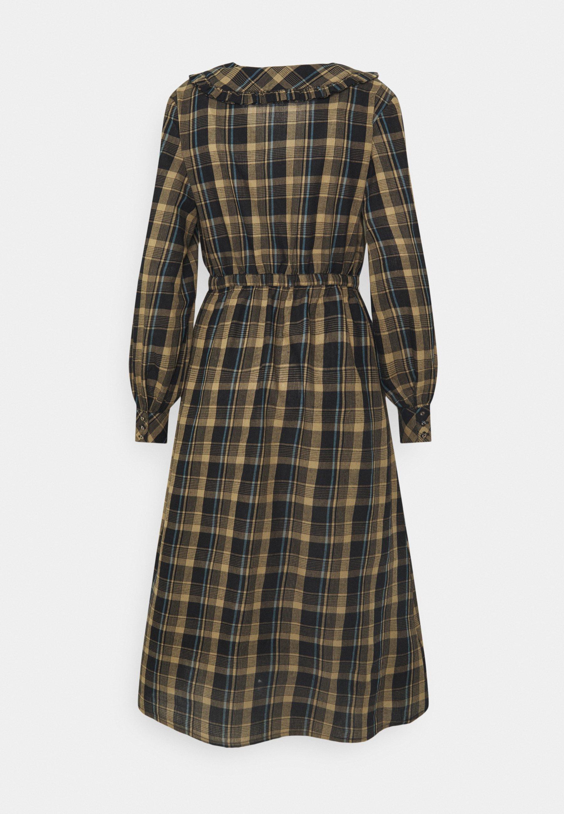 Mujer ONLFIONA ABOVE CALF SHIRT DRESS - Vestido camisero