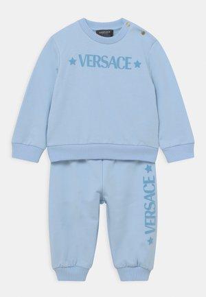 SET UNISEX - Tracksuit - baby blue/bianco