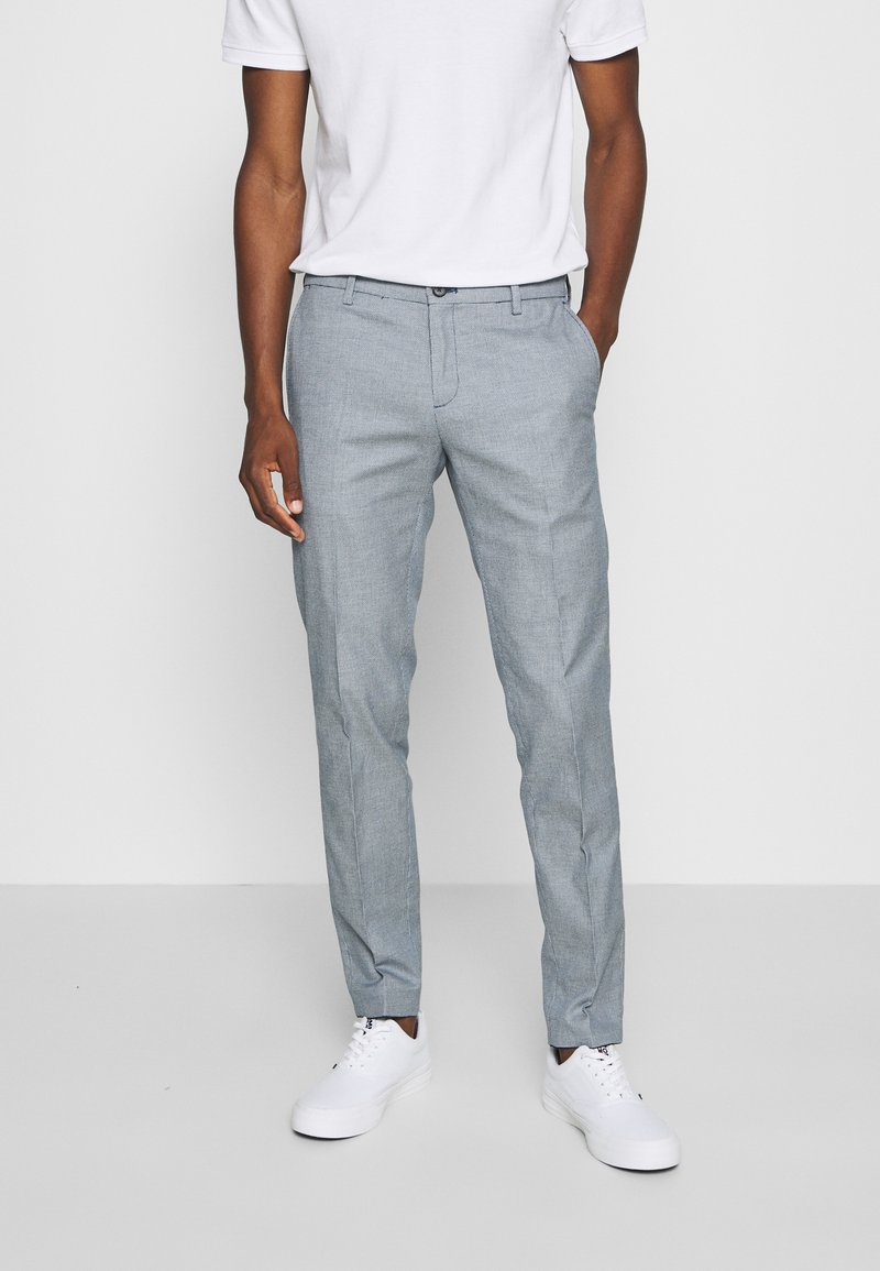 Tommy Hilfiger Tailored - Trousers - blue