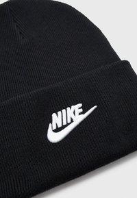 Nike Sportswear - BEANIE UTILITY FUTURA UNISEX - Pipo - black/white - 2