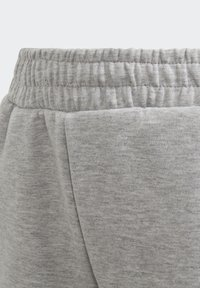 adidas Performance - 3-STREIFEN DOUBLEKNIT TAPERED LEG HOSE - Trousers - grey - 6