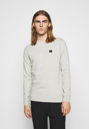 ETIENNE CASHTON - Strickpullover - light grey melange