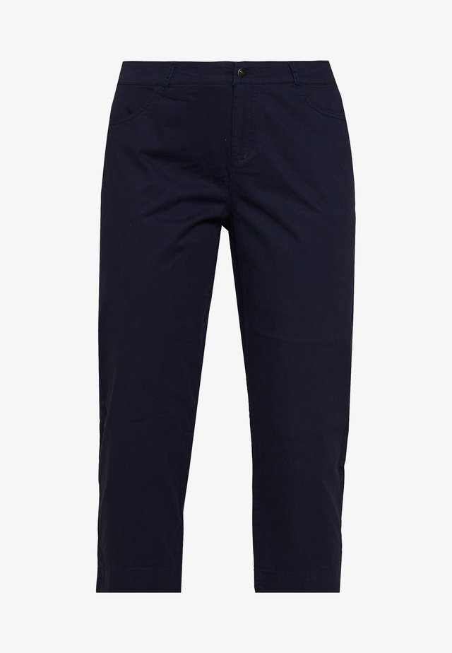 CAPRI WITH BACK POCKETS - Broek - navy