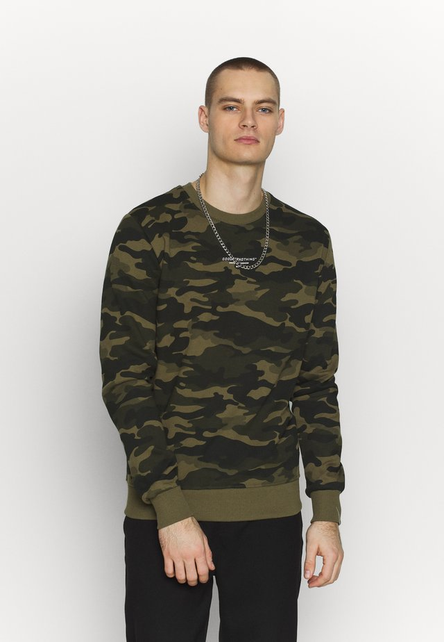 GOOD FOR NOTHING FITTED - Sweatshirt - multi-coloured