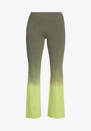 STRAIGHT LEG LEGGINS - Trousers - dusty brown