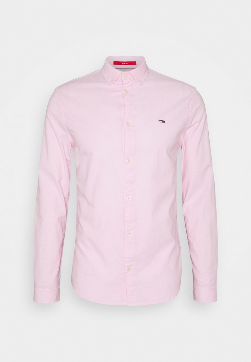 Tommy Jeans - STRETCH SHIRT - Chemise - pearly pink