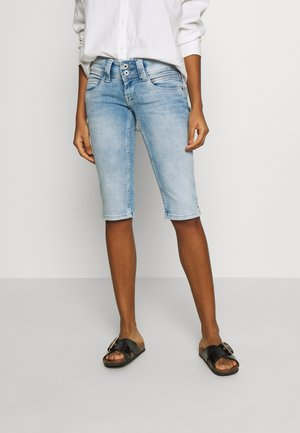 VENUS CROP - Denim shorts - denim