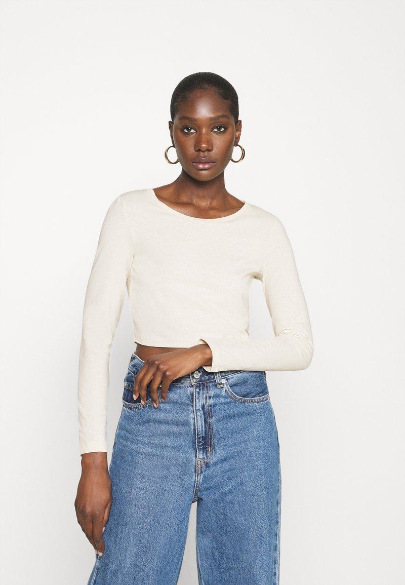 Zign - REDEZIGN - Maglietta a manica lunga - beige