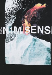 9N1M SENSE - VULKAN UNISEX - T-shirt print - black - 5