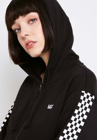 Vans - FUNNIER TIMES  - Zip-up hoodie - black - 5
