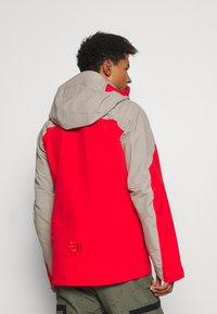State of Elevenate - MENS BACKSIDE JACKET - Ski jacket - red - 2