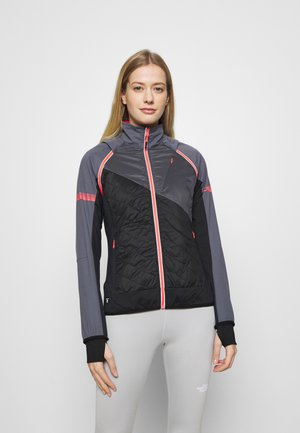 WOMAN JACKET WITH DETACHABLE SLEEVES - Outdoorjakke - graffite